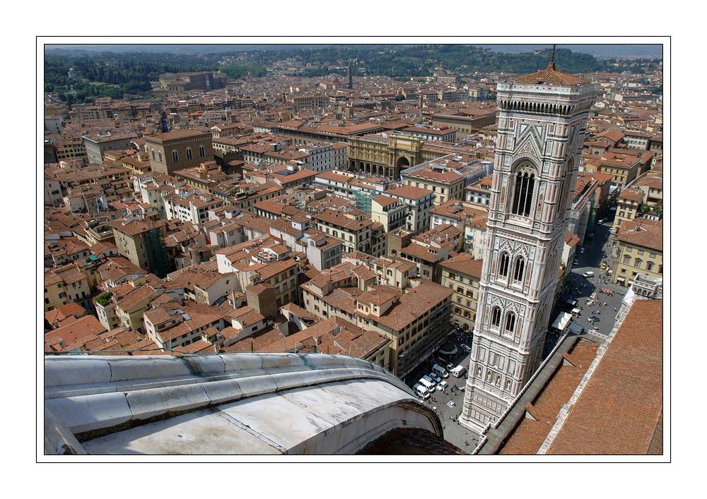 Blick vom Florenzer Dom