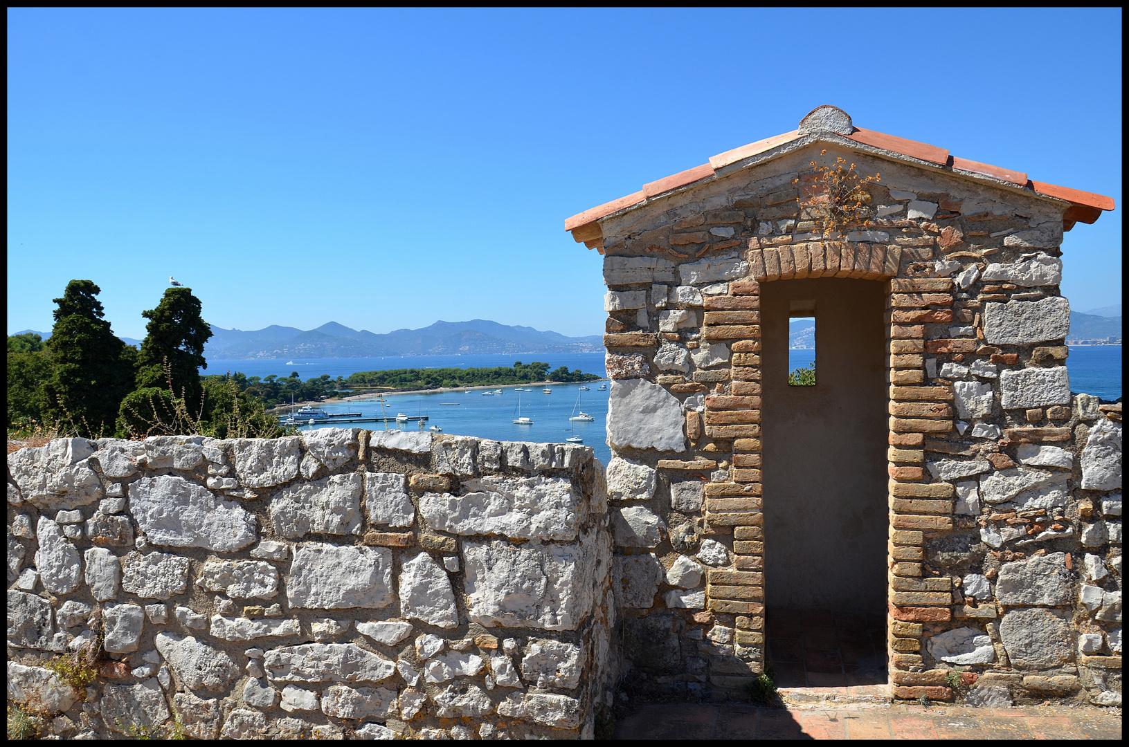 Blick vom Fort Vauban, île Sainte-Marguerite