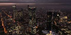 Blick vom Frankfurter Maintower