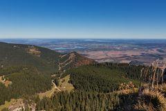 Blick vom Gipfel des Ettaler Manndl