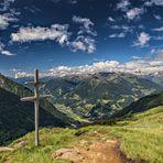 Blick vom Gipfel des Fastnachter (2268 m)