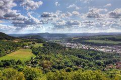 Blick vom Greifenstein nach Osten