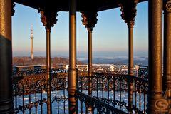 Blick vom Gusseisernen Turm