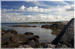 Blick vom Hammerknudden - Granitküste im Norden von Bornholm