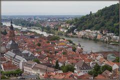 Blick vom Heidelberger Schloß