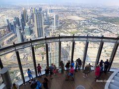 Blick vom höchsten Turm der Welt II