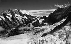Blick vom Jungfraujoch