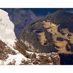 Blick vom Jungfraujoch ins Berner Oberland