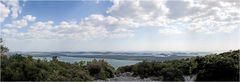 Blick vom Kamenjak auf die Inselwelt der Kornaten