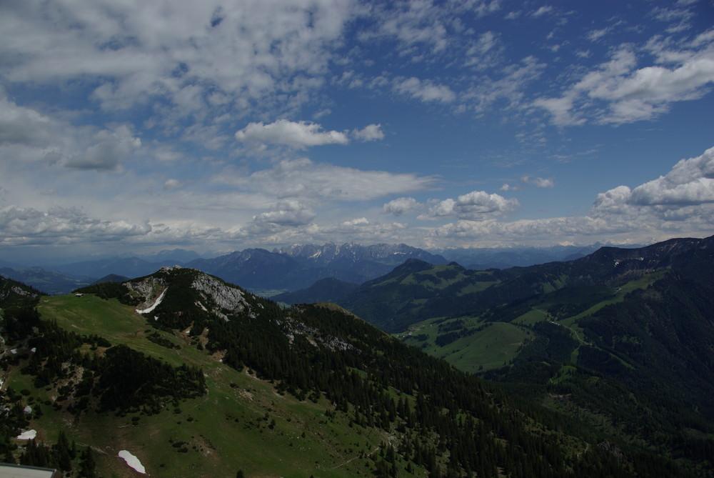 Blick vom Karwendel