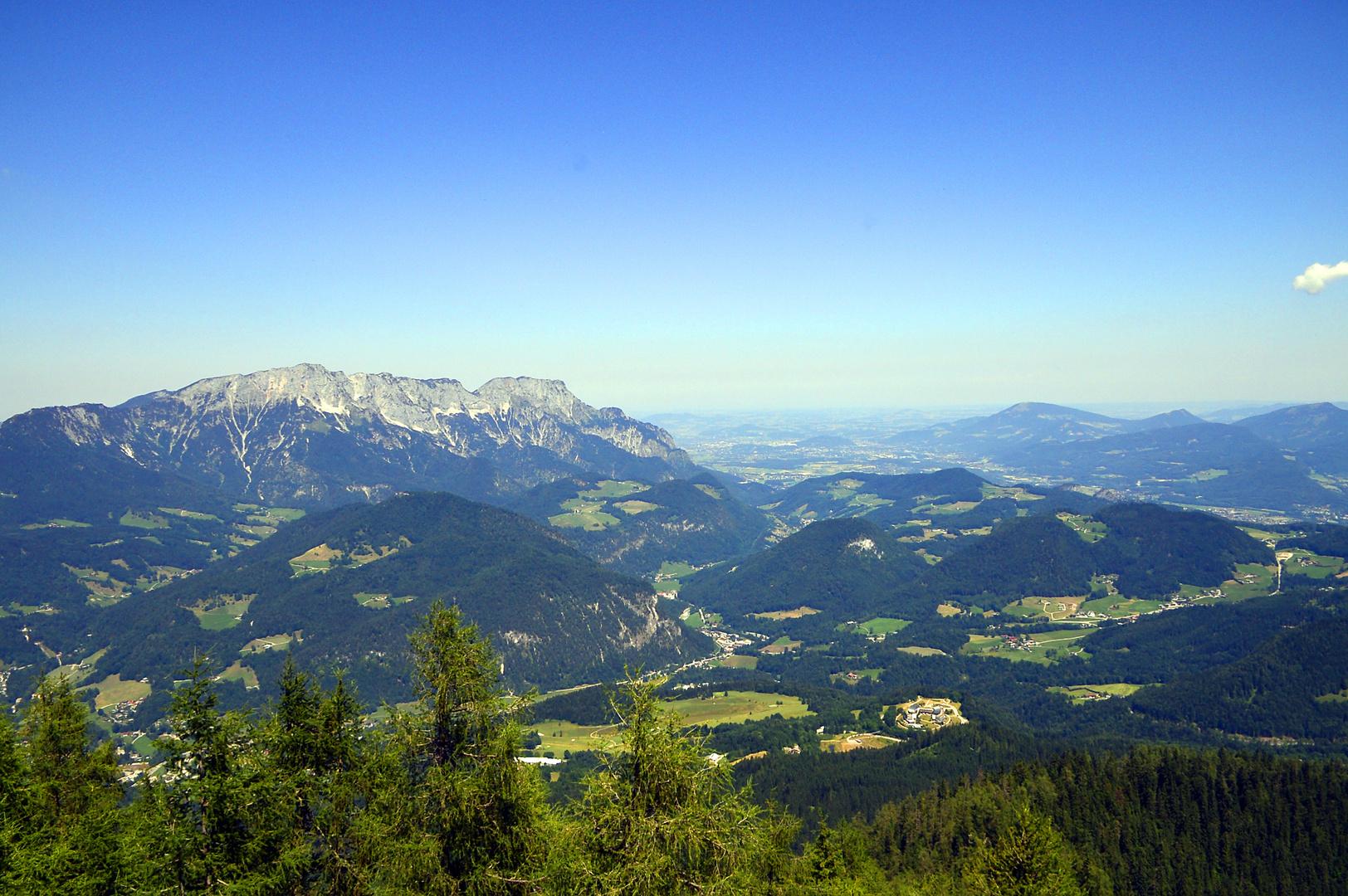 Blick vom Kehlsteinhaus 4