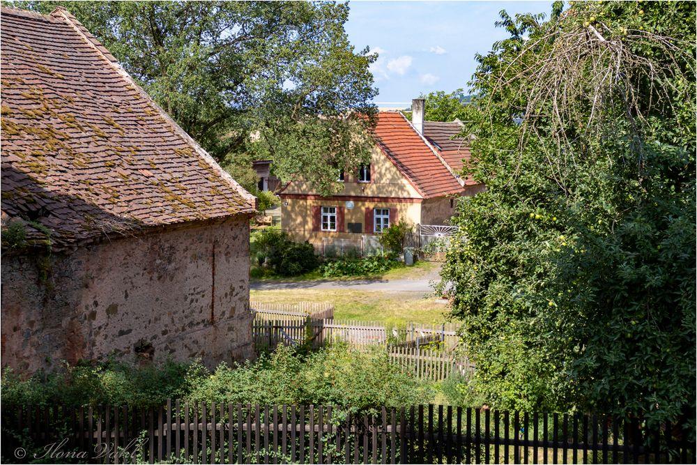 Blick vom Kirchhof