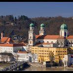 Blick vom Kloster Mariahilf auf St. Stephan