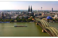 Blick vom Köln Triangel