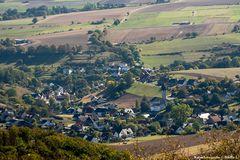 Blick vom Köterberg ins Tal