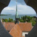 Blick vom Konstanzer Münster auf den Bodensee