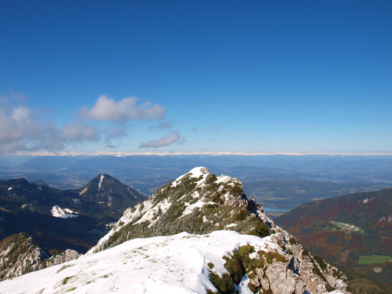 Blick vom Kosjak(Karawanken) nach Norden(Hohe und Niedere Tauern)