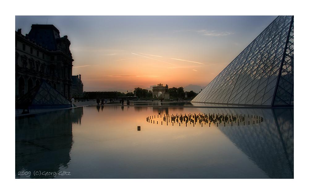 Blick vom Louvre