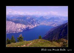 Blick vom Monte Baldo
