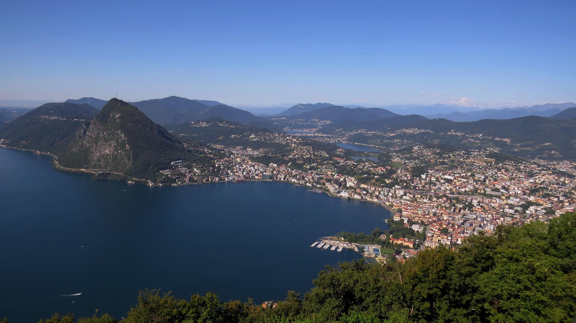 Blick vom Monte Bré