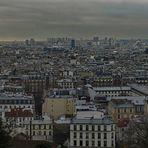 Blick vom Montmatre Auf Paris (2.Versuch)