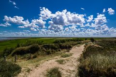 Blick vom Morsum Kliff in Richtung Osten