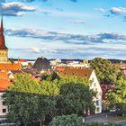 Blick vom Natruper Tor über die Altstadt von Osnabrück