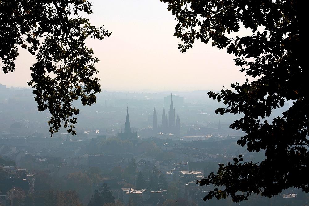 Blick vom Nero-Berg auf Wiesbaden