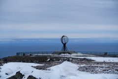 Blick vom Nordkapp nach Norden