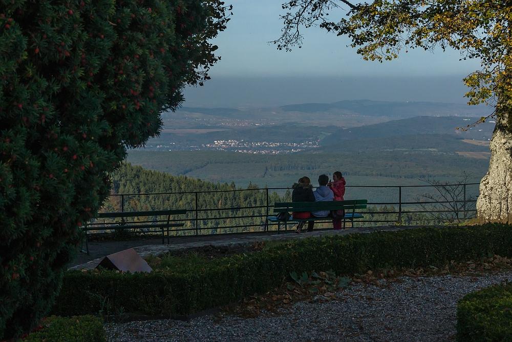 Blick vom Odilienberg aus