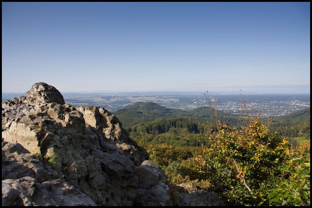 Blick vom Ölberg in die Eifel