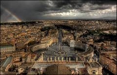 Blick vom Petersdom