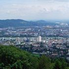 Blick vom Pöstlingberg auf LINZ