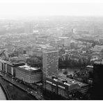 """Blick vom Rheinturm (Düsseldorf """"historisch"""", 1)"""