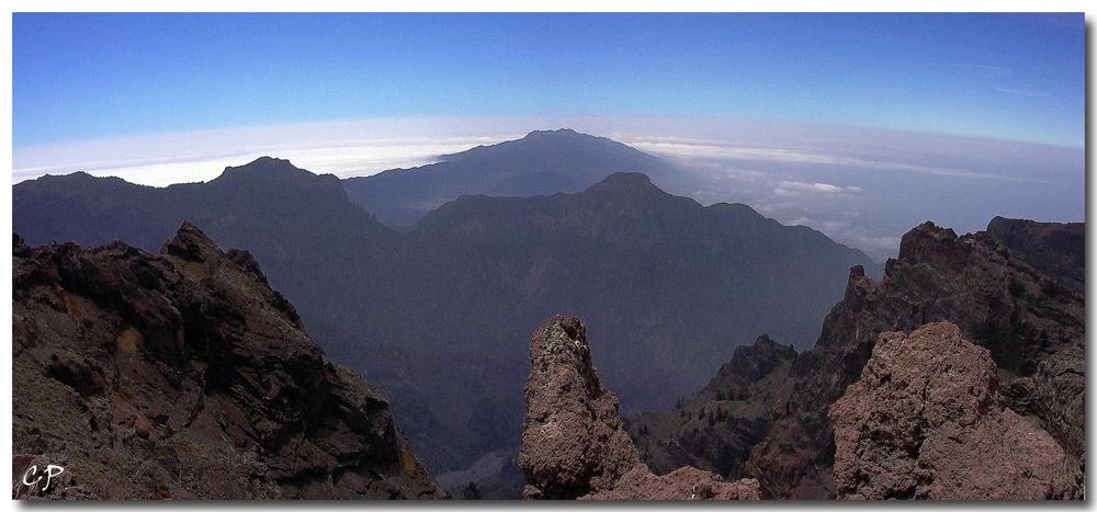Blick vom Roque de Los Muchachos