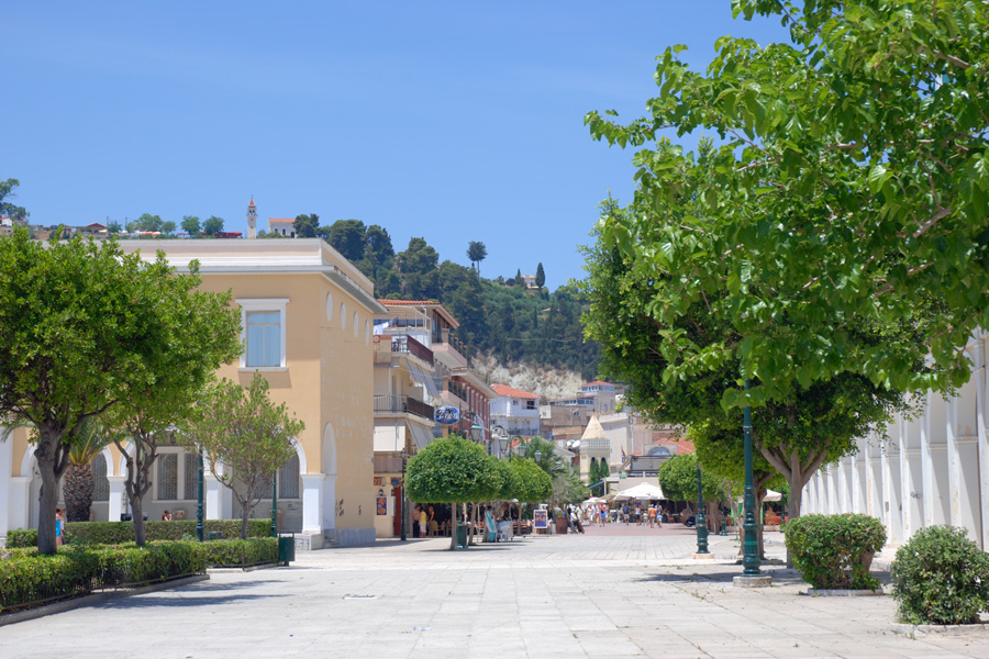 Blick vom Solomosplatz