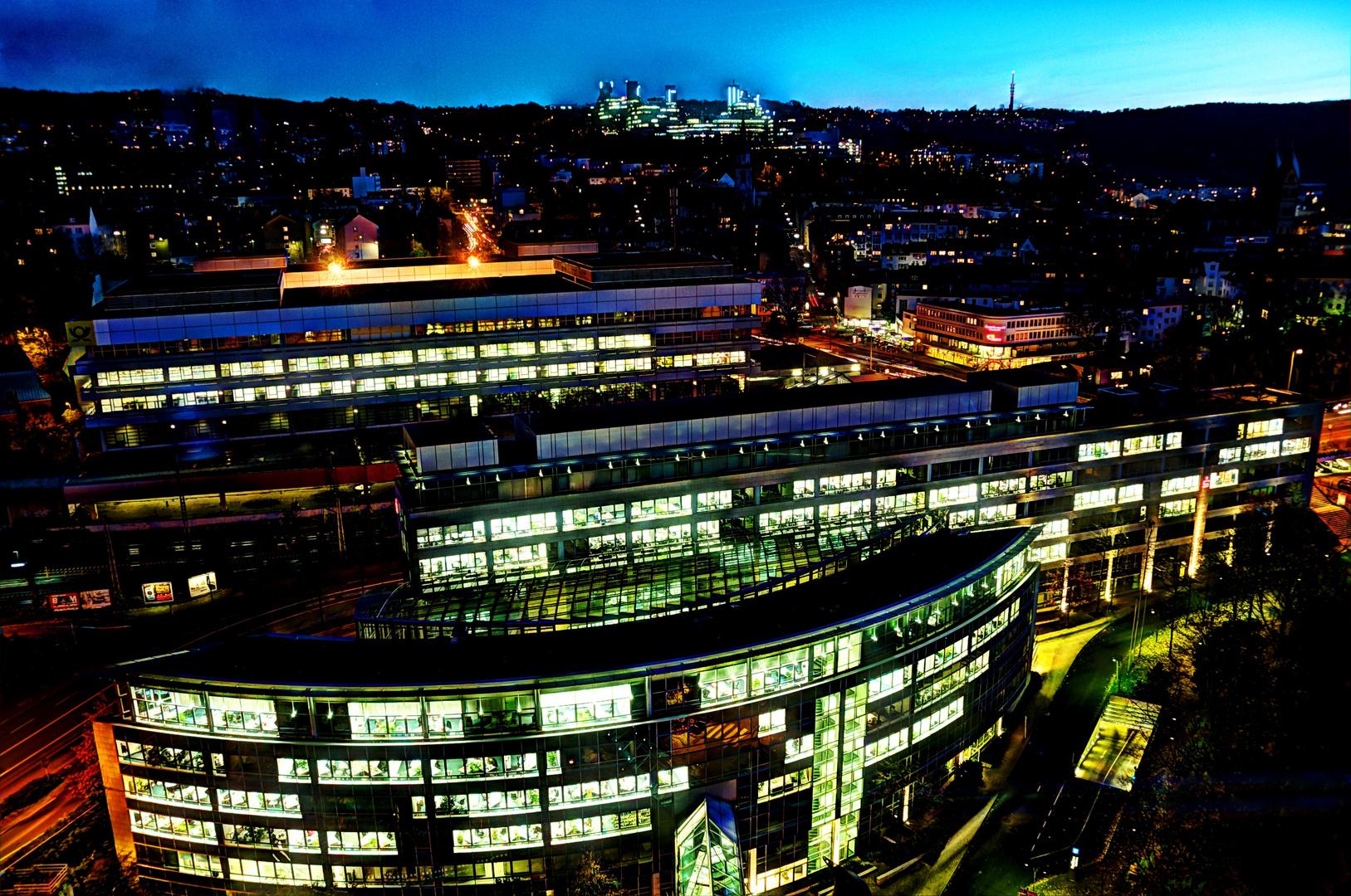 Blick vom Sparkassen-Hochhaus