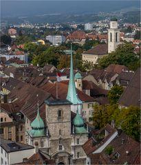 Blick vom St. Ursenturm