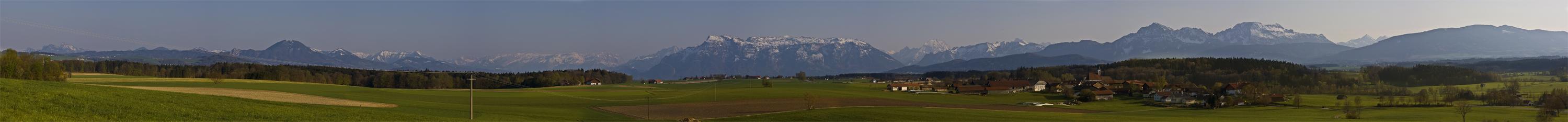Blick vom Thannberg nach Abtsdorf