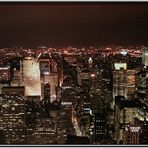 Blick vom Top of the Rock, New York!*
