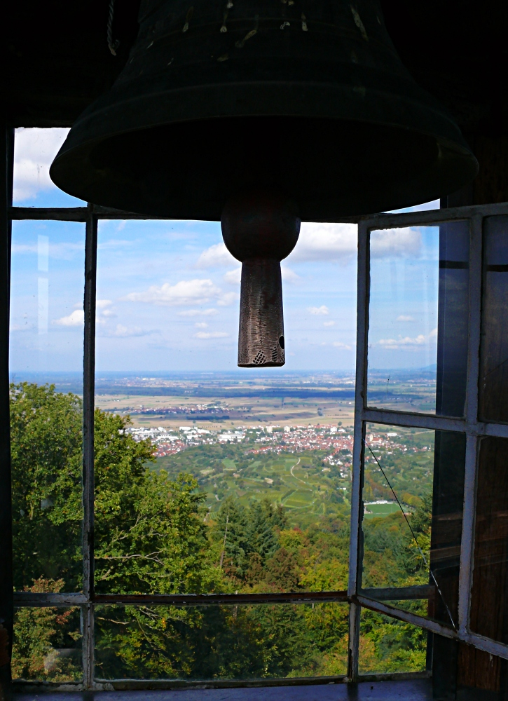 Blick vom Turm der Katharinekapelle...