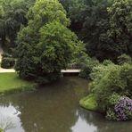Blick vom Turm des Neuen Schlosses auf den Fürst-Pückler-Park