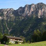 Blick vom Untersbergweg zum ...