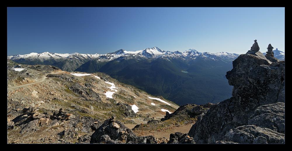 [ Blick vom Whistler Mountain Peak ]