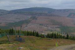 Blick vom Wurmberg zum Brocken
