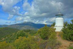 Blick von Capo Oro zum Monte Cappanne