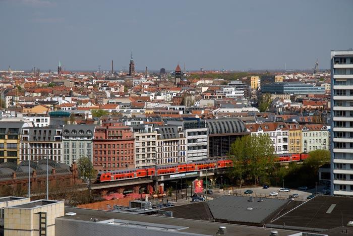 Blick von dem Dom, Berlin, Avril 08