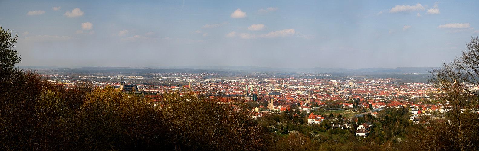 Blick von der Altenburg...