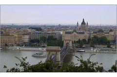 Blick von der Burg Buda....