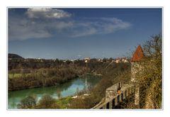 Blick von der Burg...